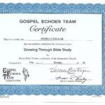 Advanced Christian Cert 2 - Christian Bible Study