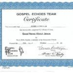 Advanced Christian Cert 3 - Studying Jesus