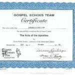 Advanced Christian Cert 4 - Apostilistic Ministry
